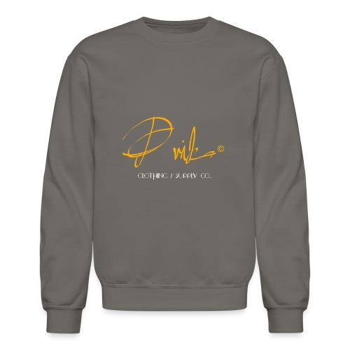 Prika Designer Sweater Grey - Crewneck Sweatshirt