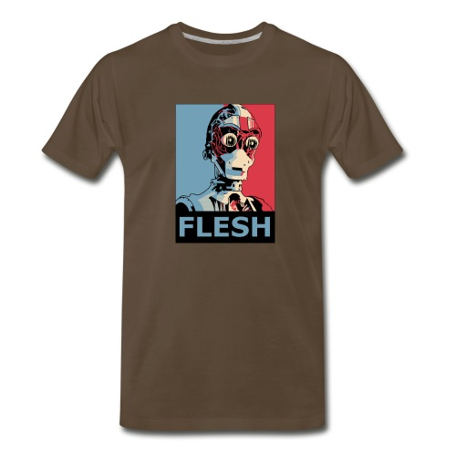 FLESH Deluxe Men - Men's Premium T-Shirt
