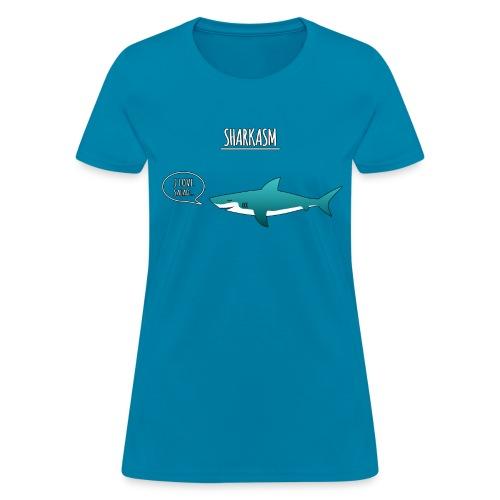 Sharkasm - Women's T-Shirt