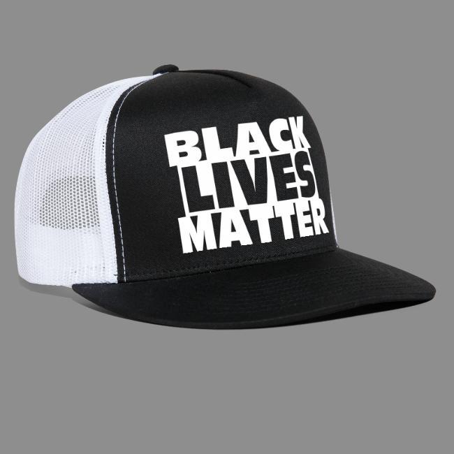 Black Lives Matter Cap Black Front Trucker Hat Trucker Cap