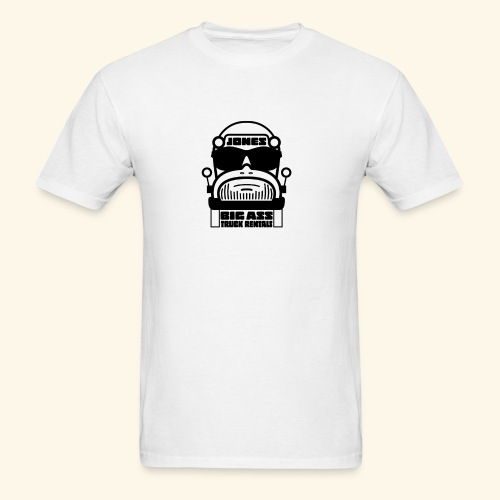 Jones Big Ass T-Shirt - White as Hell - Men's T-Shirt