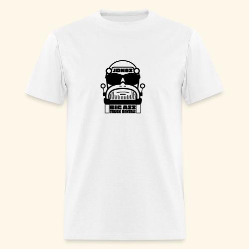 Jones Big Ass T-Shirt - White as Hell - Men's T-Shirt