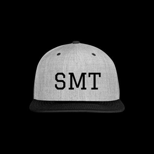 black SMT - Snap-back Baseball Cap