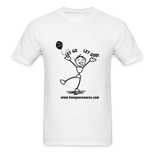 Let Go Let God - Men's T-Shirt
