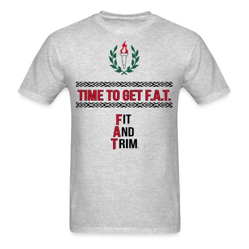 athletic slogan - Men's T-Shirt