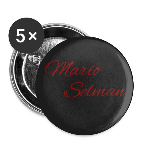 Mario Selman 5pack Buttons - Large Buttons