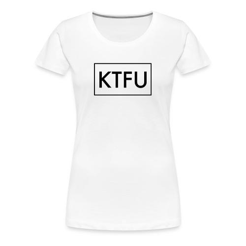 Women's Keep The F$%K Up - Women's Premium T-Shirt