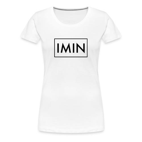 Women's IMIN - Women's Premium T-Shirt