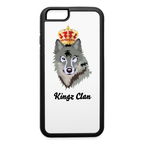 BlackKingz Clan iPhone 6/6s case - iPhone 6/6s Rubber Case