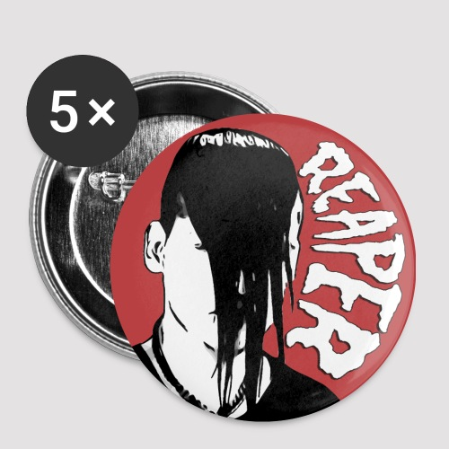 Reaper Pins (Pack of 5) - Small Buttons