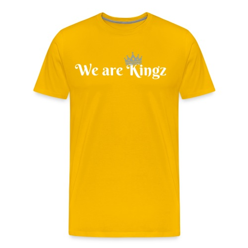 We are Kingz men's T-shirt - Men's Premium T-Shirt