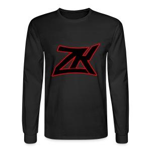 BLACK Men's Long Sleeve T-Shirt - Men's Long Sleeve T-Shirt