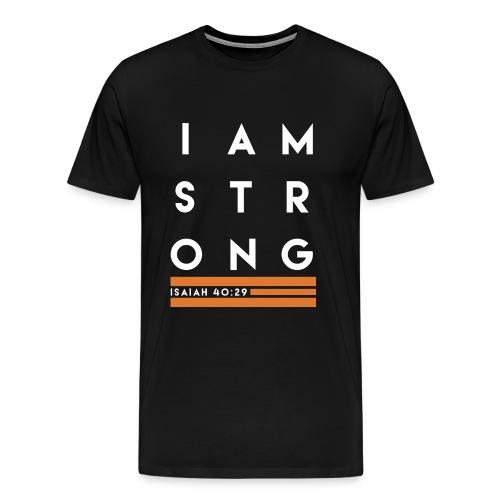 Unlimitee - I am Strong - Men's Premium T-Shirt