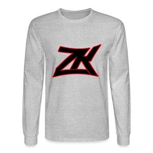 GREY Men's Long Sleeve T-Shirt - Men's Long Sleeve T-Shirt