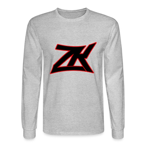 GREY Men's Long Sleeve T-Shirt - Men's Long Sleeve T-Shirt