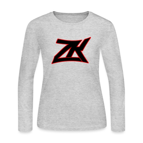 GREY Women's Long Sleeve T-Shirt - Women's Long Sleeve Jersey T-Shirt