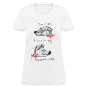 Atrocities! - Women's T-Shirt