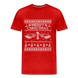 Rugby - Rugby Christmas awesome sweater for fans - Men's Premium T-Shirt