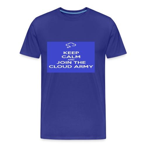 Keep Calm and Join the Cloud Army Men's Shirt - Men's Premium T-Shirt