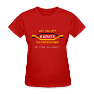 T-Shirts ~ Women's T-Shirt ~ All Valley Karate Championship