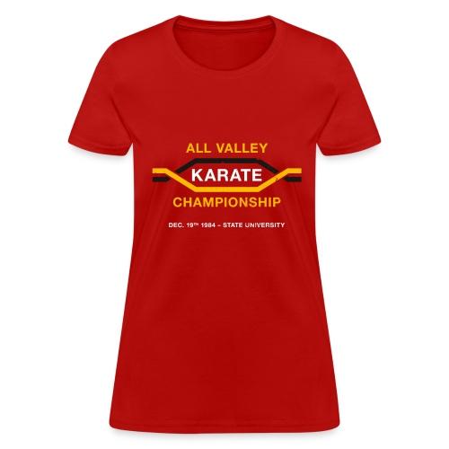 All Valley Karate Championship - Women's T-Shirt