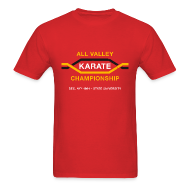 T-Shirts ~ Men's T-Shirt ~ All Valley Karate Championship