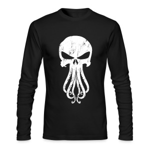 Cthulhunisher L. sleeve Next Level [M] - Men's Long Sleeve T-Shirt by Next Level