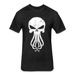 Cthulhunisher Next Level T-shirt[M] - Fitted Cotton/Poly T-Shirt by Next Level