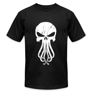 Cthulhunisher AA T-shirt [M] - Men's T-Shirt by American Apparel