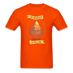 The Mountain Is Calling - Men's T-Shirt