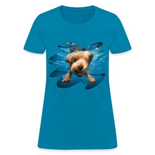 Water Yorkie - Women's T-Shirt