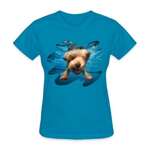 Water Yorkie - Women's T-Shirt