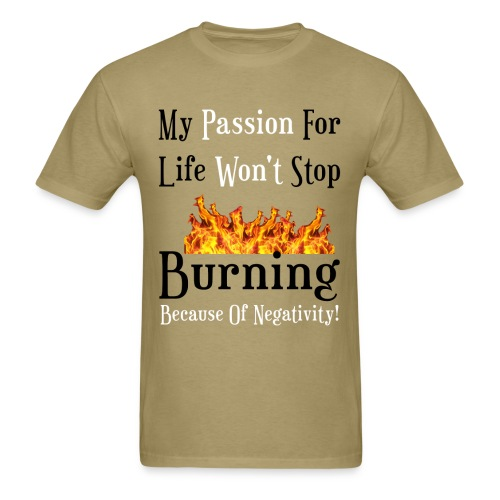 Passion Design For Men - Men's T-Shirt