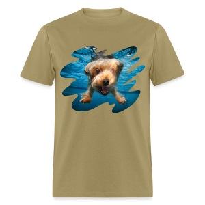 Water Yorkie - Men's T-Shirt