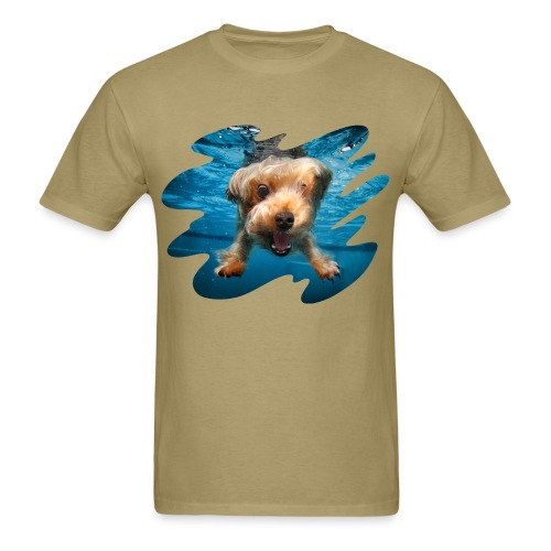 Water Yorkie - Men's T-Shirt