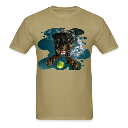 Water Rottie - Men's T-Shirt