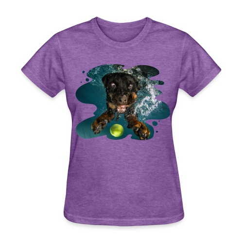 Water Rottie - Women's T-Shirt