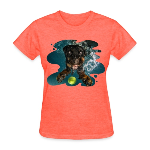 Water Rottie - Women's T-Shirt