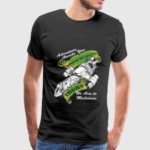 Adventure awaits you Browncoat - Men's Premium T-Shirt