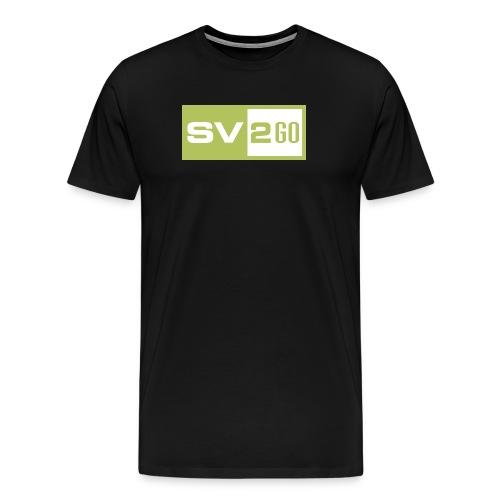 SV2GO-Black - Men's Premium T-Shirt