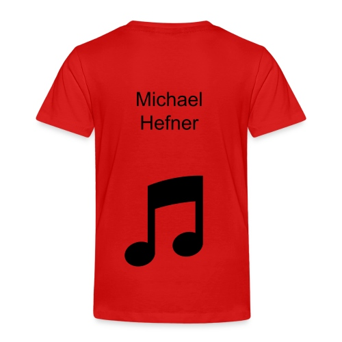 toddler Michael hefner shirt - Toddler Premium T-Shirt