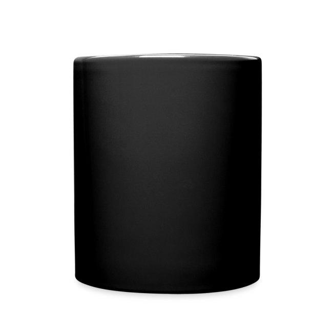 Black Inverted Logo Coffee Mug