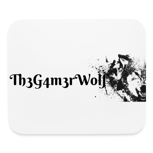 Th3G4m3rWolf limited edition mouse pad - Mouse pad Horizontal