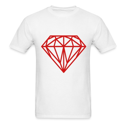 White Diamond Life Tee  - Men's T-Shirt