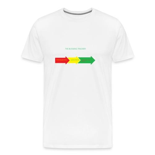 Blessing Tracker - Men's Premium T-Shirt