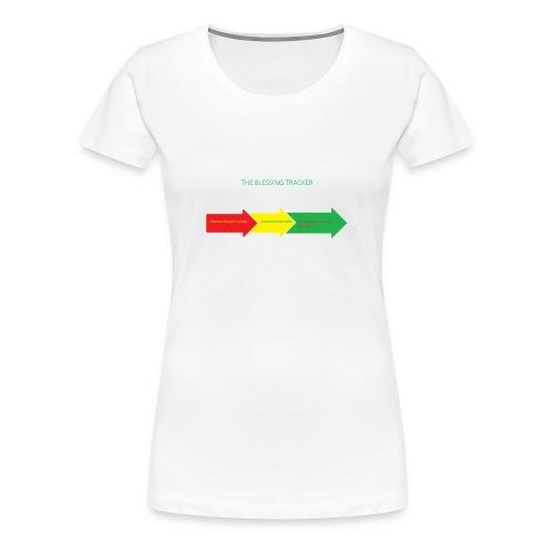 Blessing Tracker - Women's Premium T-Shirt