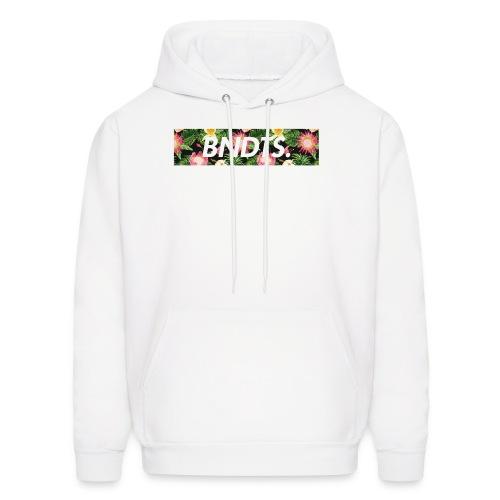 Minimal Floral Hoodie - Men's Hoodie