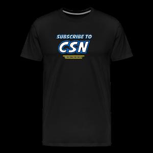 Subscribe to CSN Premium - Men's Premium T-Shirt