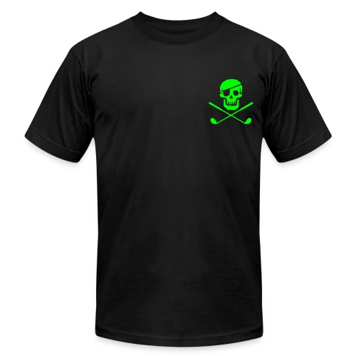 Big Jolly - Neon Green - Men's Fine Jersey T-Shirt
