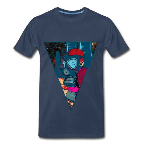 CNFRMD Red Gas  - Men's Premium T-Shirt